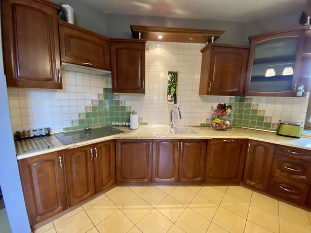 Meble kuchenne-fronty drewnine