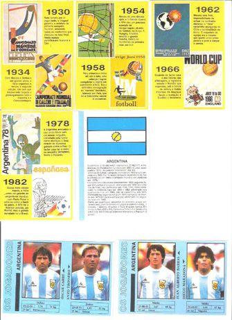 Calendários Mundial México 1986 Impala