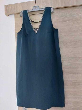 sukienka morska r. 34 XS koktajlowa wesele simple femestage minge ewa