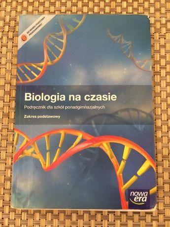 Biologia na czasie z. podstawowy nowa era liceum technikum + dodatek