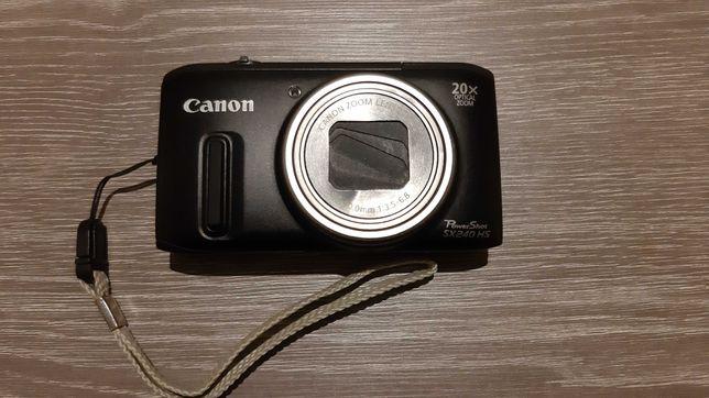 Máquina fotográfica Canon SX240 HS (20x Zoom)