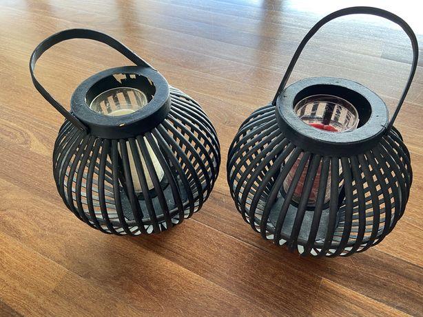 Lanternas dexorativas / suporte de velas