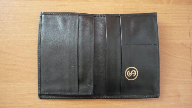 Kolekcjonerski skórzany portfel FSC Star Starachowice