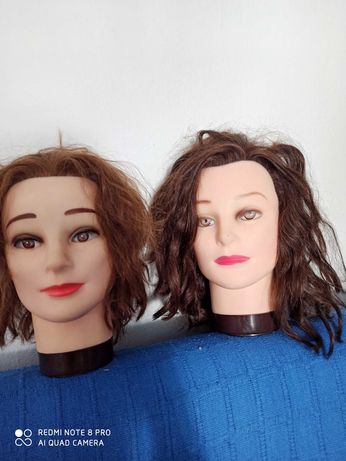 Cabeça de treino cabeleireiro