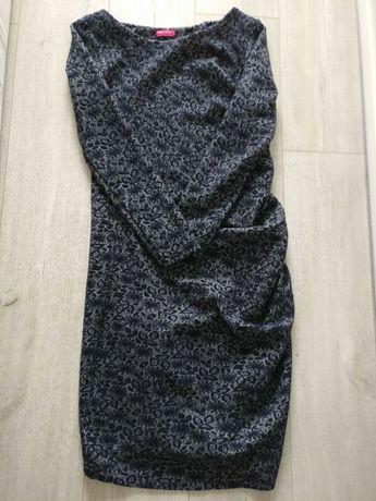 Elegancka sukienka ciążowa HappyMum S