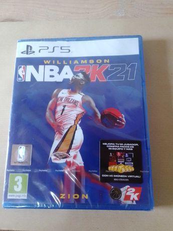 Jogo NBA 2K21 para PS5 NOVO E SELADO. Só negócios em mão.