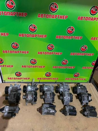 Стартер генератор компрессор кондиционера VW Skoda Разборка