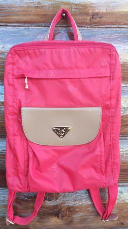 Отличный красный рюкзак от бренда maison mollerus (оригинал).