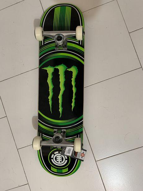 Skate Element Monster Energy NOVO