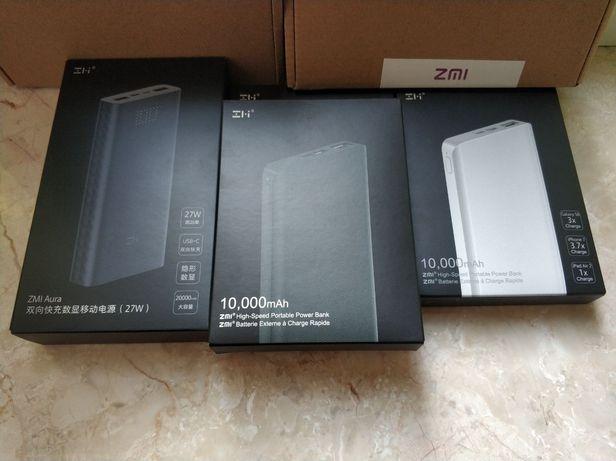 Xiaomi Zmi QB810 Aura 10000mah Mi Mijia power Original банк bank павер