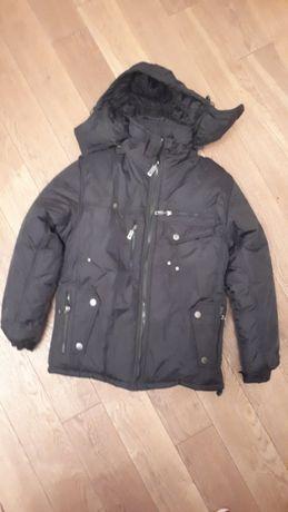 Мужская теплая куртка на искусственном меху Новая
