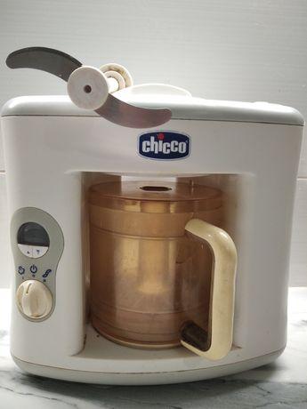 Пароварка-блендер для приготовления прикорма Chicco