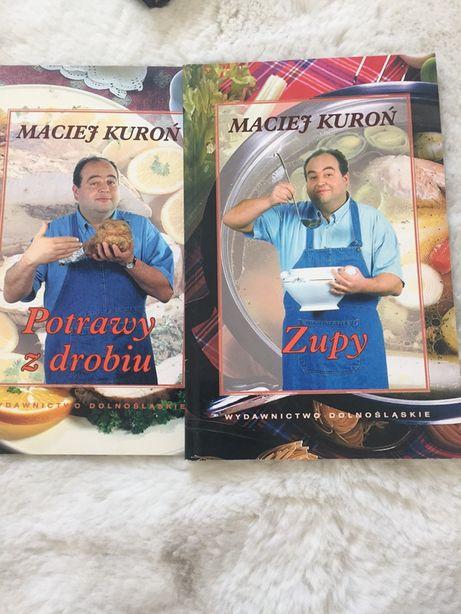 """Książka """"Potrawy z drobiu"""" i """"Zupy"""" Maciej Kuroń"""
