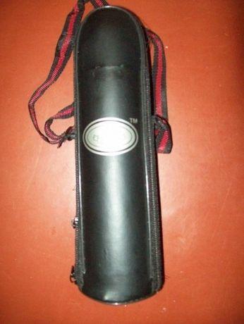 Термос вакуумный КОРОНА 0,5 л. с нержавейки с чехлом. Новый.