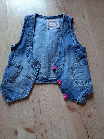 Kamizelka jeansowa roz. 128