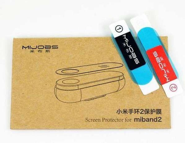 Протектор Xiaomi (Transparent)для фитнес-трекера Xiaomi Mi Band 2