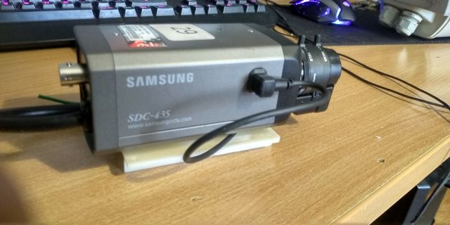 Kamera Przemysłowa Samsung sdc 435ph+obiektyw Monitoring