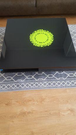 stolik czarny połysk 95x95