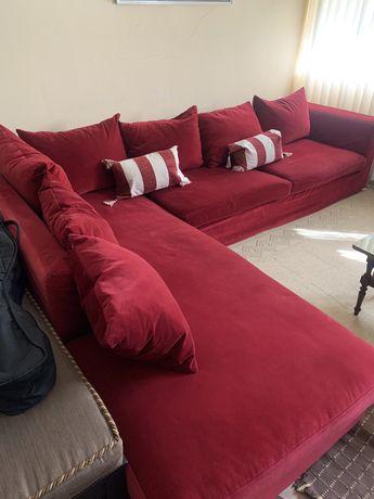 Sofa Area Veludo