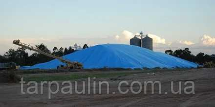 Тент тарпаулиновый 75гр/м2 размер 20х20 метров