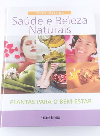 Livro saúde e beleza natural