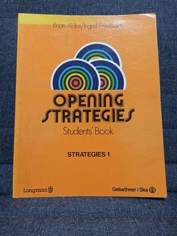 Podręcznik do nauki języka angielskiego Opening Strategies