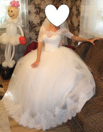 свадебное платье 12000руб