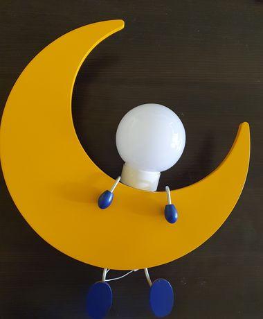 Kinkiet Księżyc do pokoju dziecięcego.