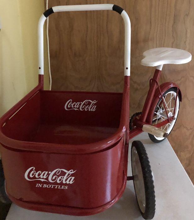 Coca cola. Triciclo. 1950. USA Miranda do Douro - imagem 1