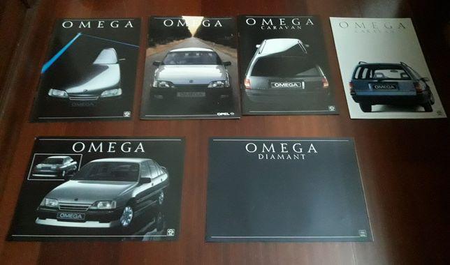 Catálogos Opel Omega e Omega 3000 24v