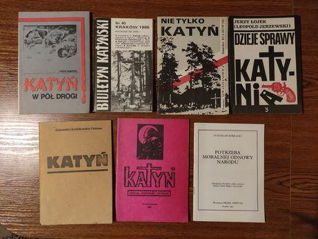 Książki tematyka Katynia