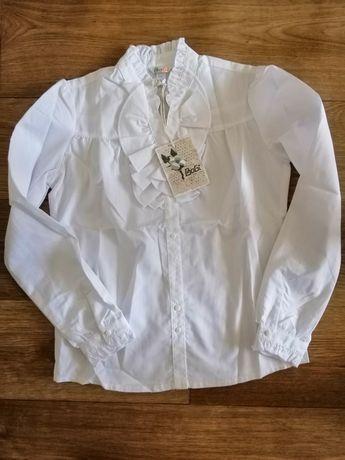 Блузка для девочки, белая - BoGi