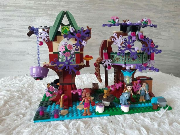 Lego elves kryjówka elfów 41075