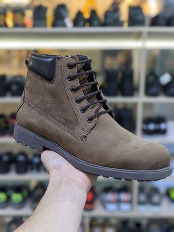 Ботинки зимние кожаные Geox 42-43 размера 28 см. Оригинал