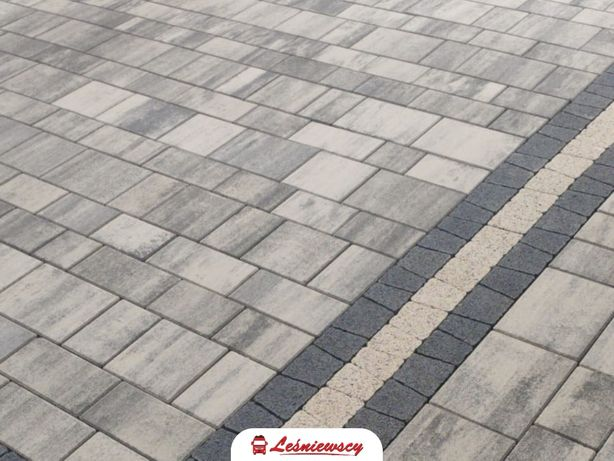 Kostka brukowa na podjazd/taras/schody Drogbruk-PRIMAVERA-Inverno HDS