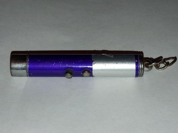 Фонарик светодиодный и лазерная указка 2 в 1
