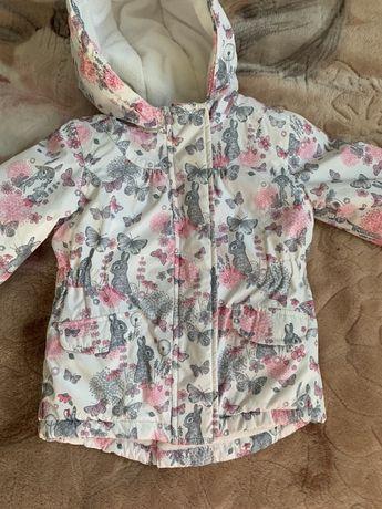 Продам демисезонную куртку парку mothercare
