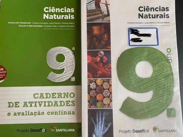 Manual de Ciências + Caderno de Atividades 9 ANO