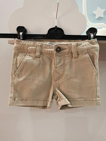 Krótkie spodenki sjgorty jeansowe 62 zara hm Newbie hm