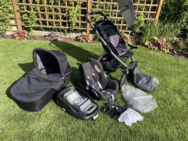 Wózek Maxi Cosi Mura 4 plus 4w1 baza Family Fix