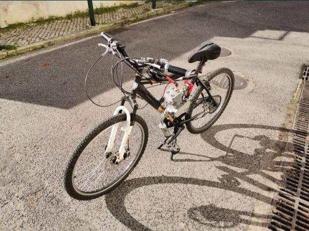 Bicicleta a motor bina 100cc