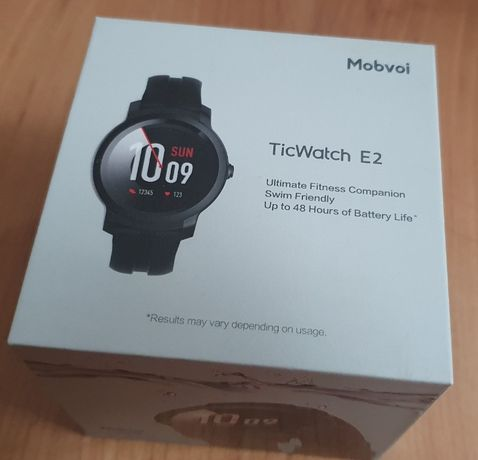Super! Smartwatch Mobvoi ticwatch e2 . Android stan bdb Wear OS