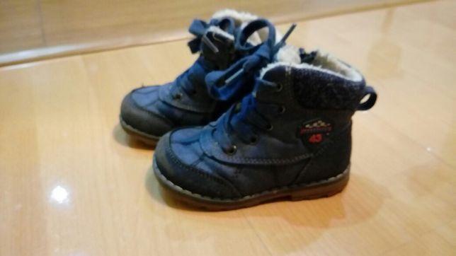 Buty zimowe chlopiece 23