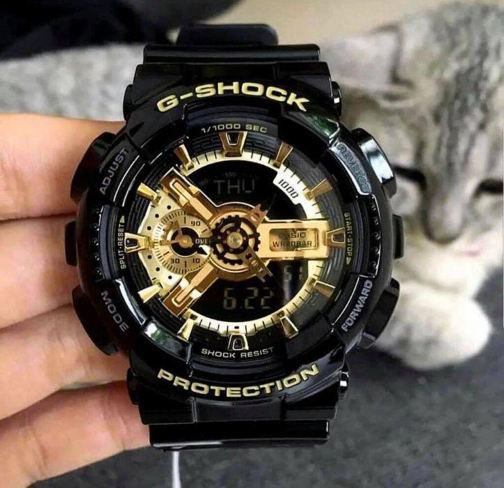 Zegarek Casio G-Shock GA-110 Czarno złoty Gdańsk - image 1