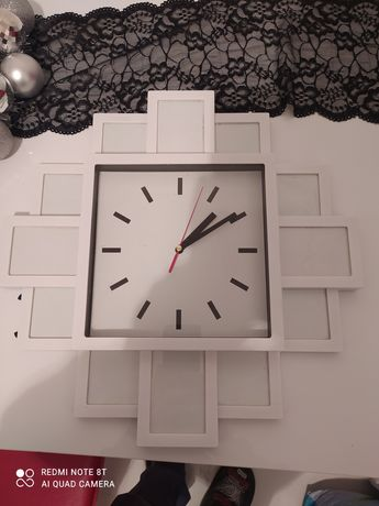 Sprzedam zegar z możliwością wstawienia zdjęć