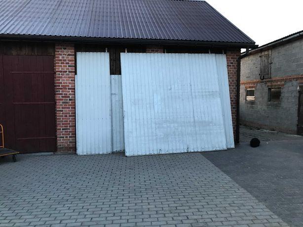 Brama przesuwna - garażowa, magazynowa - drzwi przesuwne 3,05 x 3,00 m