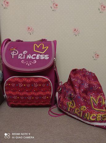 """Ортопедический школьный рюкзак """"1 Вересня"""" + сумка в подарок"""