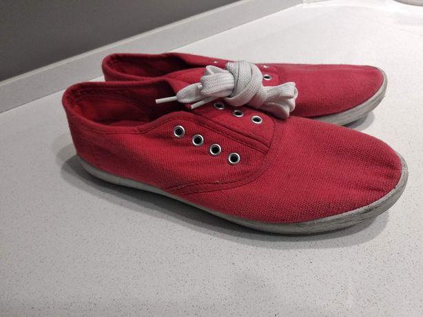 Tenisówki buty sport zabawa ( hulajnoga), r. 39 czerwone