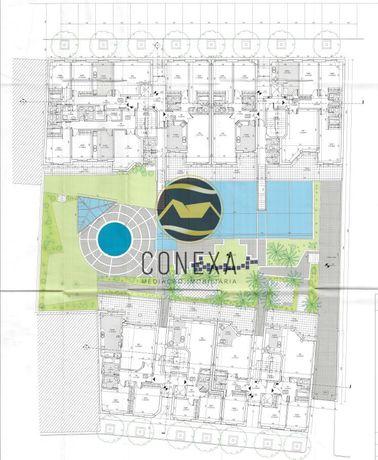 Terreno para Construção de 30 Apartamentos T2 e T3