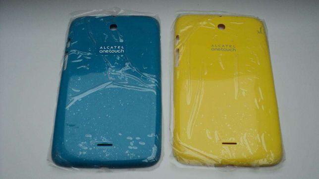 Alcatel onetouch backcover obudowa tylna nowa oryginalna niebieska żół